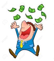 14226214-buisness-man-under-a-rain-of-money--Stock-Vector-cartoon