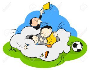 7295040-Fight-at-a-football-soccer-field-Stock-Vector-cartoon