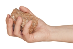 stone-in-hand